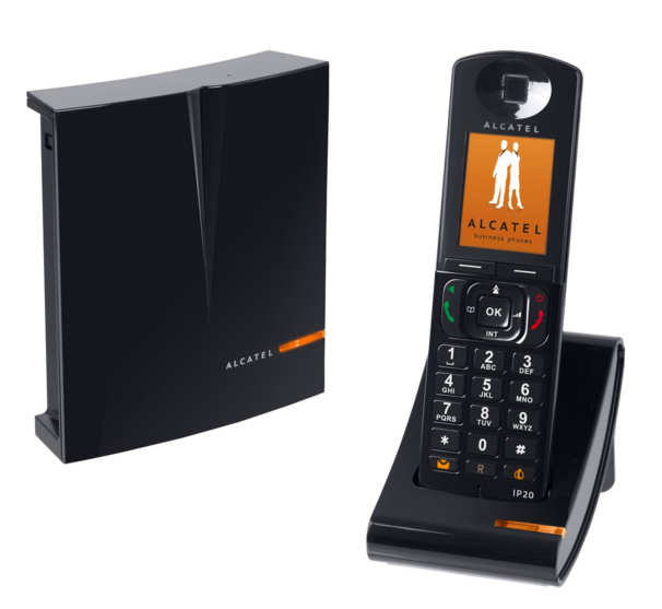 alcatel ip1020 t l phone fixe dect sip. Black Bedroom Furniture Sets. Home Design Ideas