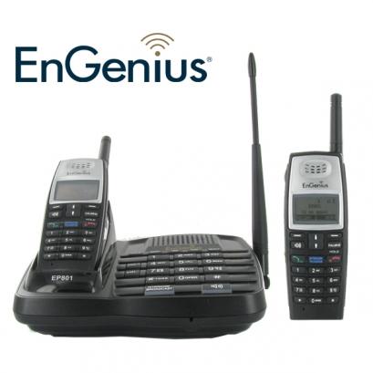 engenius ep801 duo t l phone longue port e 2 combin s. Black Bedroom Furniture Sets. Home Design Ideas