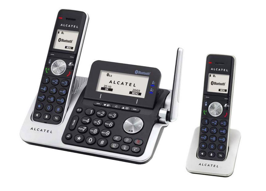alcatel xp2050 duo t l phone sans fil r pondeur 2 combin s. Black Bedroom Furniture Sets. Home Design Ideas