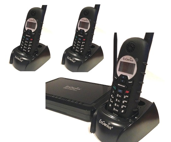 Engenius EP TRIO Téléphone Longue Portée Lignes Combinés - Téléphone sans fil longue portée