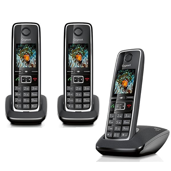 Siemens Gigaset C TRIO Téléphone Sans Fil Combinés - Téléphone sans fil longue portée
