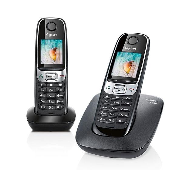 Siemens Gigaset C620 DUO - Téléphone sans fil 2 combinés 78c91fe152d3