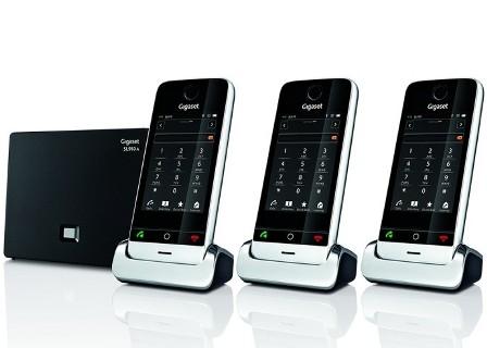 Siemens Gigaset SLA TRIO Téléphone Sans Fil Répondeur Combinés - Téléphone sans fil longue portée