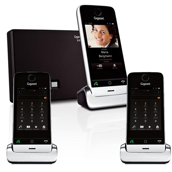 Siemens Gigaset SL TRIO Téléphone Sans Fil Combinés - Téléphone sans fil longue portée