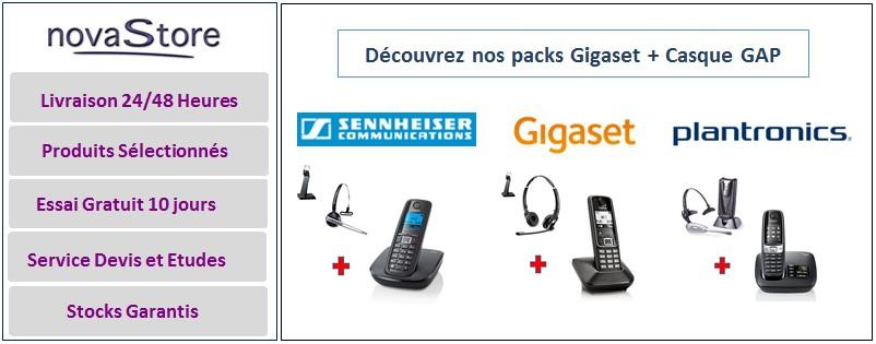 Casques Gap Pour Téléphones Sans Fil Dect